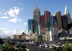 "Казино ""Нью-Йорк, Нью-Йорк"". Лас-Вегас, Невада."