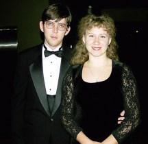 Новогодняя вечеринка в музее джаза и рок-н-ролла. Декабрь, 2000 год.