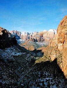 Canyon overlook. Раннее утро.