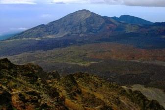 Цветной кратер вулкана Халеакала.
