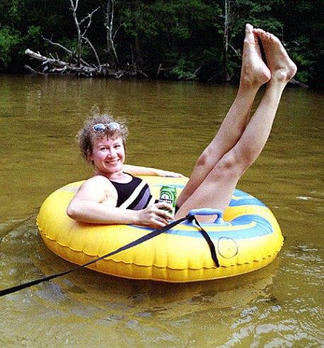 Ой, вытащите меня! Blackwater river.
