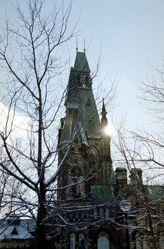 Башня Мира. Парламентский Холм.