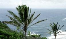 Дождь над океаном. Долина Pololu.