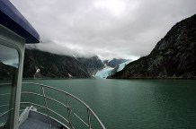 Подплываем к Северо-западному леднику (Northwestern Glacier).