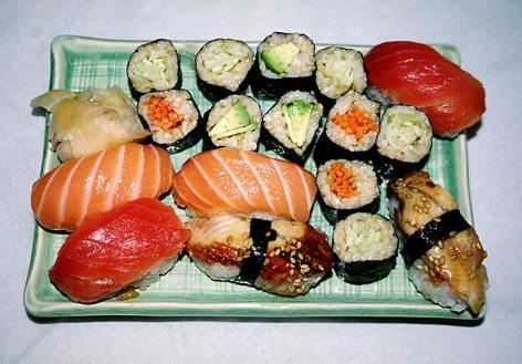 Суши-мания.