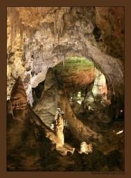 В недрах Мории. Гномов сфотографировать не удалось :) Carlsbad Caverns National Park.
