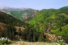 Горы Pindos mountains. Vikos-Aoos National Park.