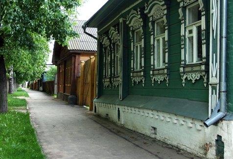 Улицы Суздаля.