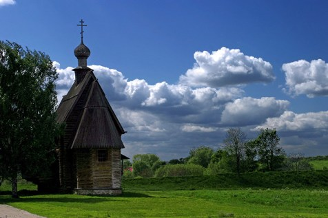 Никольская церковь из села Глотова Юрьев-Польского района (1766 г.). Суздаль.