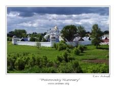 Тихий женский монастырь... За рекой Каменкой в Суздале тихо стоит белокаменный Покровский монастырь. Вокруг - пасторальные поля, тропинки, березки...