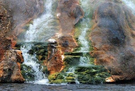 Ручьи, стекающие в Огненную реку.