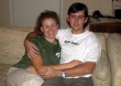 Дома, после рабочих будней. Ноябрь, 2001 год.