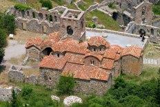 Византийская церковь Afentiko (Panagia Odigitria) с 8-угольными куполами без крестов. Начало 14-го века.