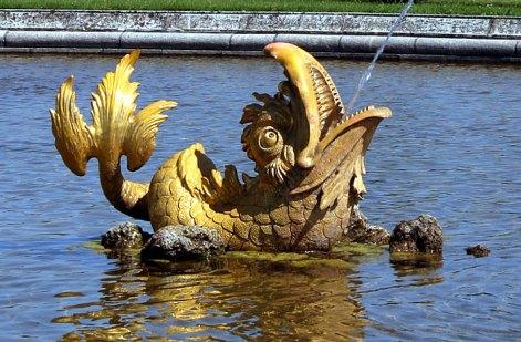 Золотая рыба Нептуна.