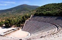 Античный театр Эпидаврос (Epidavros), 4 в. до н.э.