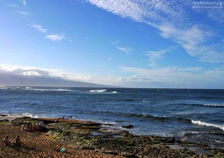 Семейный отдых на пляже Ho'okipa