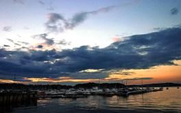 Яхты готовятся ко сну. Озеро Шамплейн. Колчестер.