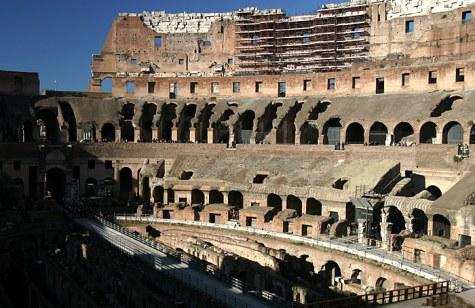 Амфитеатр Колизея.