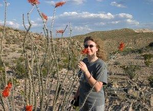 Прогулка по пустыне в районе каньона Boquillas.