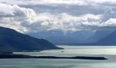 Северная часть озера Naknek lake.