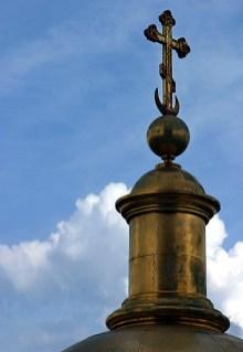 Одна из башенок вокруг главного купола Исаакиевского собора.