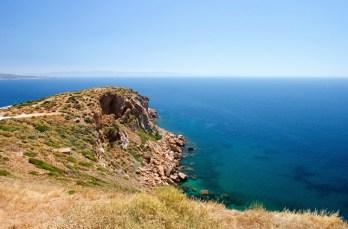 Мыс Сунио - самая южная точка континентальной Греции.