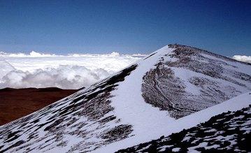 На Гавайях вполне можно кататься на горных лыжах.
