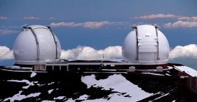 Обсерватория над облаками. Mauna Kea State Park.