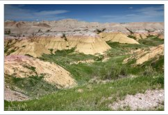 Долина желтых холмов Yellow Mounds.