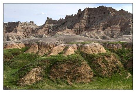 Эти холмы – характерный пример палеопочвы.