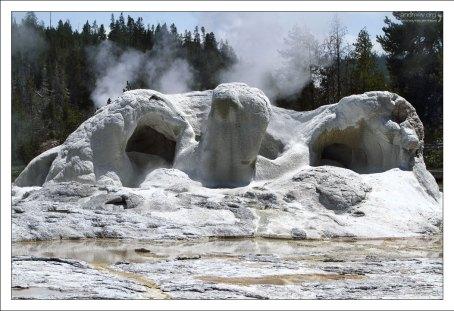 """Grotto geyser, он же """"Физиономия лешего"""" ."""