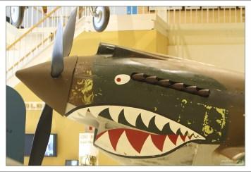 Американский истребитель P-40B Tomahawk времён Второй мировой войны.