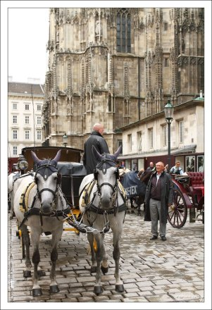 Фиакр – наёмный городской экипаж на конной тяге.