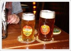 """Пиво с коноплей в ресторане """"Зибенштерн""""."""