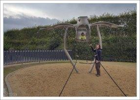 Отличная детская площадка в парке Шёнбрунн.