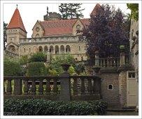 Фасад замка Бори (Bory Var).