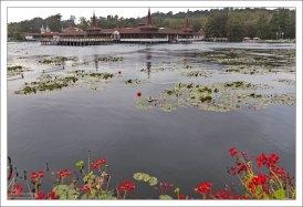 Heviz - самое большое термальное озеро в Европе по площади (47 500 м²) с температурой воды от 24 °C зимой до 36 °C летом.