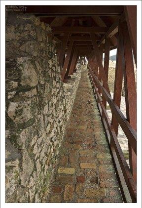 По стенам замка Шюмег можно ходить.