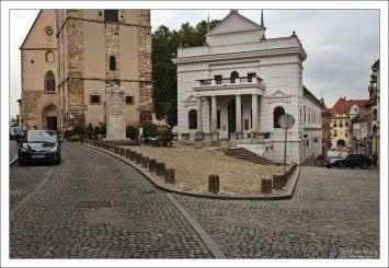 Центральная площадь города - Slovenski trg.