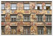 Фресковая роспись на фасаде дома по адресу Herrengasse, 3.