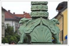 По преданию, именно здесь, на берегу Любляницы, Ясон, предводитель аргонавтов, будто бы одолел крылатого змея и освободил местных жителей от вечного страха.