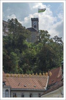 Сторожевая башня Люблянского Града.