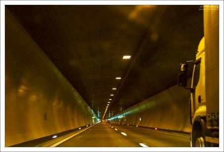 Туннель над Халльштаттом.