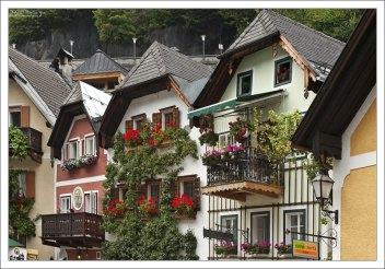 Дома, окружающие площадь Marktplatz.