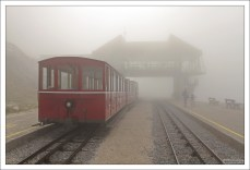 Поезд в тумане.