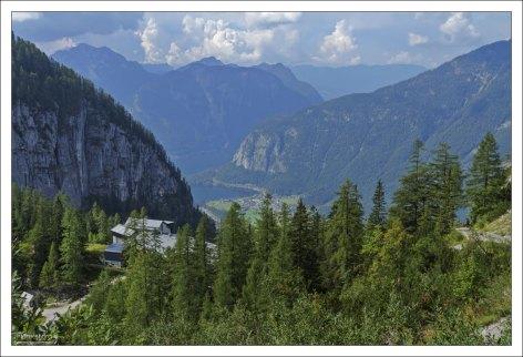 Ворота австрийских гор Дахштайн.