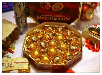 Знаменитые австрийские конфеты Mozartkugel.