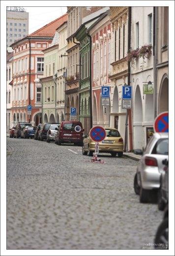Улица Česká.