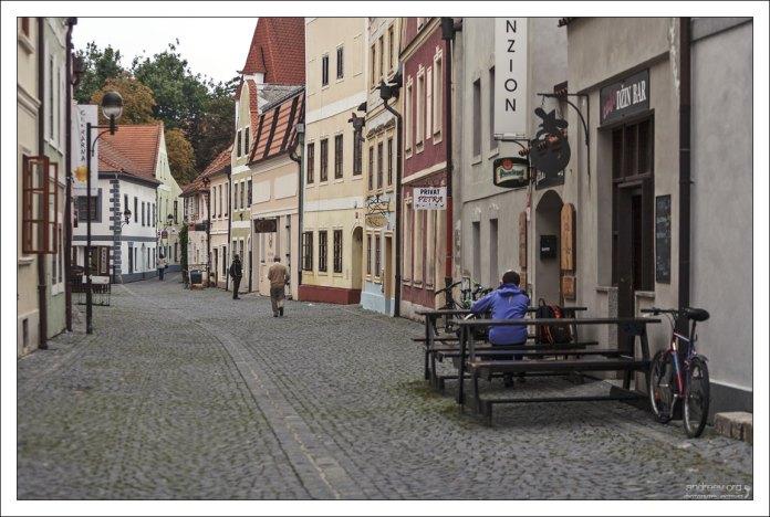 Улица Panská с домами в стиле барокко, 18-й век.
