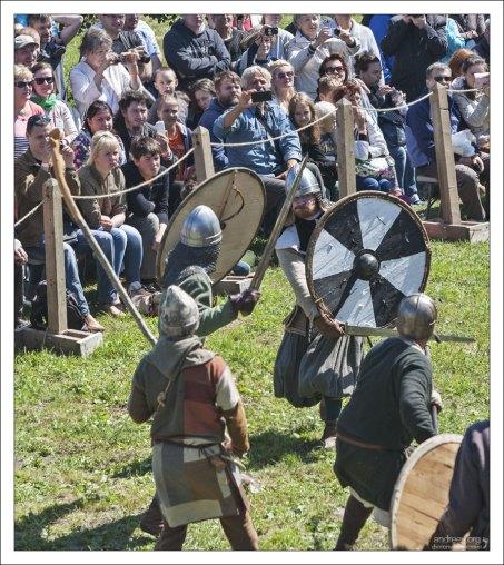 Воины вошли в азарт.